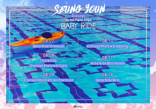 "UNIQ's Seungyoun Releases Schedule For ""Baby Ride"" Feat. BTOB's Hyunsik"