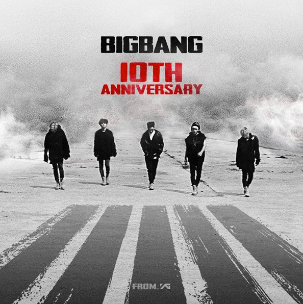 BIGBANG Thanks Fans And Shows Love On 10th Anniversary
