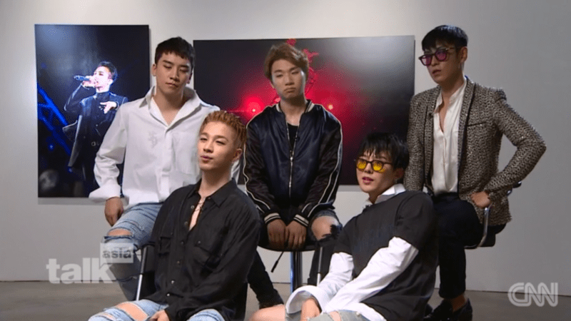 "BIGBANG's Interview With CNN: ""We're Happiest When The 5 Of Us Are Together"""
