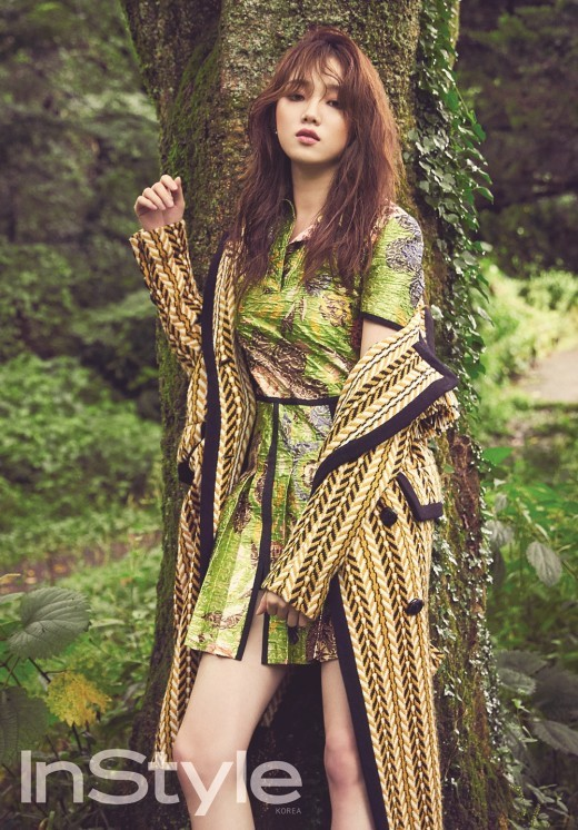lee sung kyung instyle