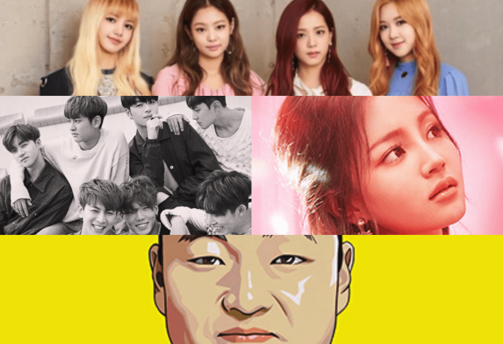 BLACKPINK iKON Lee Hi PSY