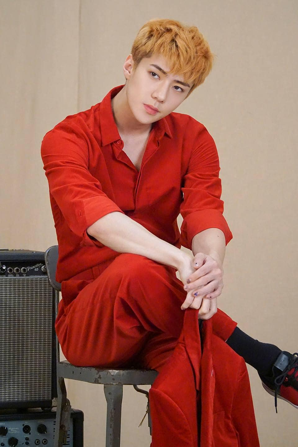 EXOs Sehun Effortlessly Models In Additional Photos For