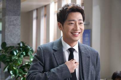 Hasil gambar untuk Lee Sang-Yeob while you were sleeping