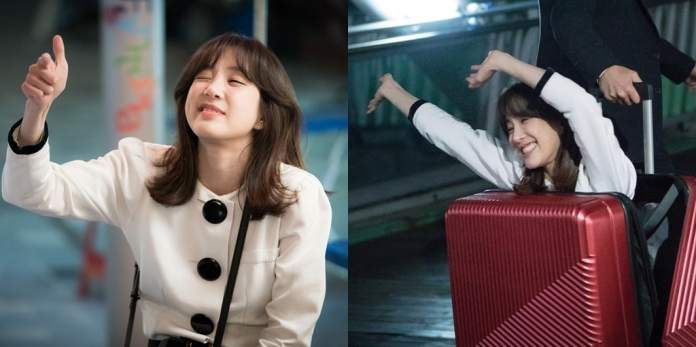 """- Jung Ryeo Won3 - Jung Ryeo Won Has Fun Being Silly Behind The Scenes Of """"Wok Of Love""""  - Jung Ryeo Won3 - Jung Ryeo Won Has Fun Being Silly Behind The Scenes Of """"Wok Of Love"""""""