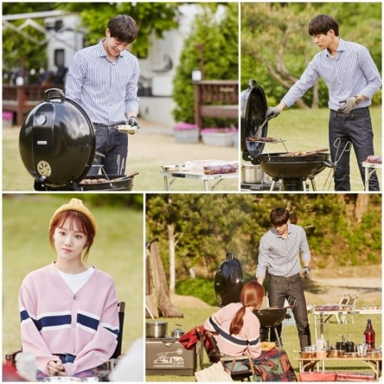 "- Lee Sang Yoon Lee Sung Kyung 1 - Lee Sang Yoon And Lee Sung Kyung Enjoy A Romantic Camping Date In ""About Time""  - Lee Sang Yoon Lee Sung Kyung 1 - Lee Sang Yoon And Lee Sung Kyung Enjoy A Romantic Camping Date In ""About Time"""