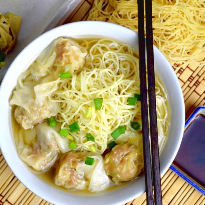 "- Hong Kong styled wonton noodle soup tasteasianfood - The Ultimate Foodie's Guide For ""Wok Of Love""  - Hong Kong styled wonton noodle soup tasteasianfood - The Ultimate Foodie's Guide For ""Wok Of Love"""