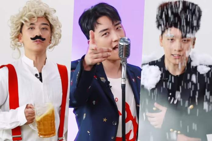 "- Seungri - Watch: BIGBANG's Seungri Is The Epitome Of Being Extra In Multilingual Version Of ""1, 2, 3!""  - Seungri - Watch: BIGBANG's Seungri Is The Epitome Of Being Extra In Multilingual Version Of ""1, 2, 3!"""