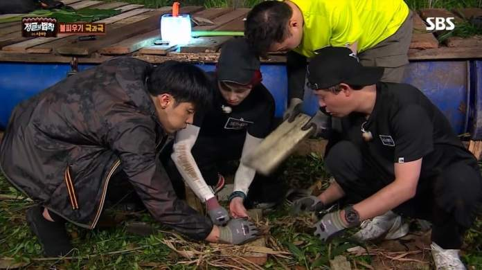 """- law of the jungle 3 - Wanna One's Ha Sung Woon Shows His Survival Skills As Fastest Idol To Light Fire On """"Law Of The Jungle""""  - law of the jungle 3 - Wanna One's Ha Sung Woon Shows His Survival Skills As Fastest Idol To Light Fire On """"Law Of The Jungle"""""""
