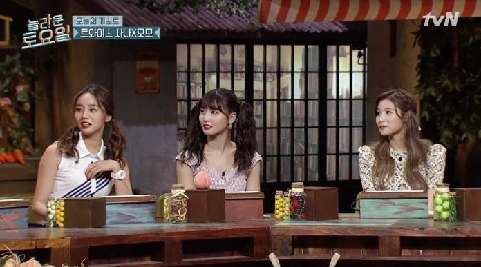 "- Girls Day Hyeri TWICE Momo Sana - TWICE's Sana Wins Over Girl's Day's Hyeri And SHINee's Key With Her Aegyo On ""Amazing Saturday""  - Girls Day Hyeri TWICE Momo Sana - TWICE's Sana Wins Over Girl's Day's Hyeri And SHINee's Key With Her Aegyo On ""Amazing Saturday"""