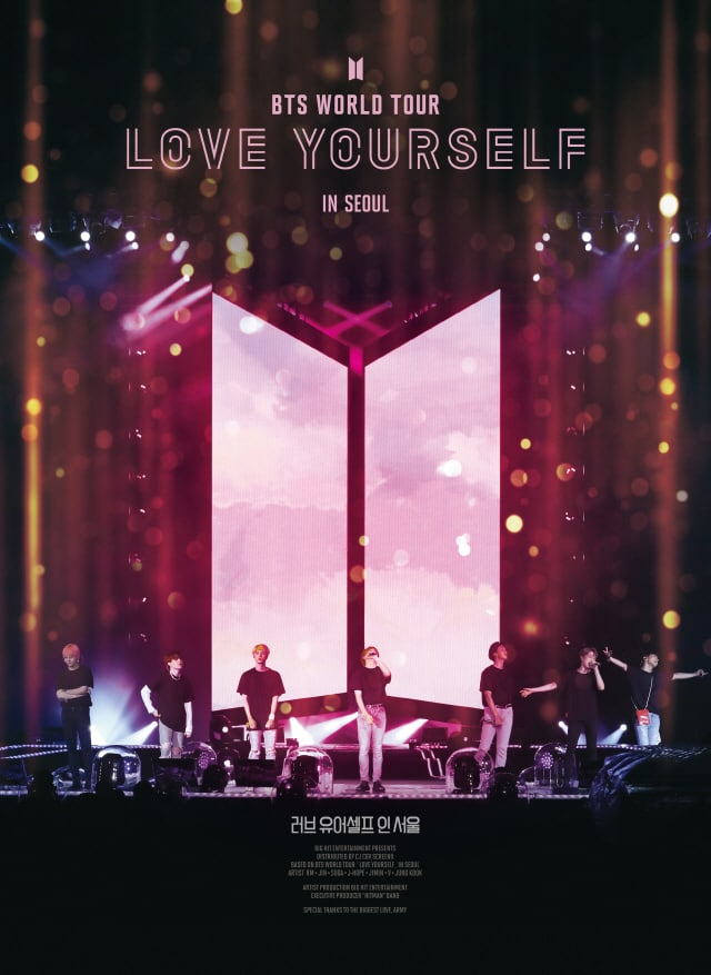 """La película de BTS """"Love Yourself In Seoul"""" confirmada para salir al aire en televisión 1"""
