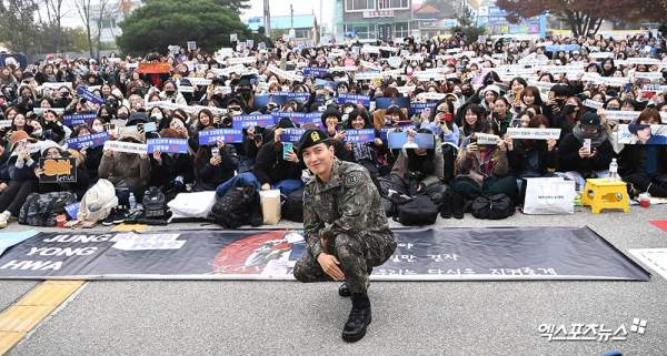 CNBLUE's Jung Yong Hwa Discharged From Military; Promises ...