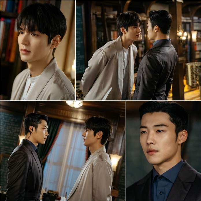 """Lee Min Ho + Woo Do Hwan Are Closer Than Brothers In """"The King ..."""