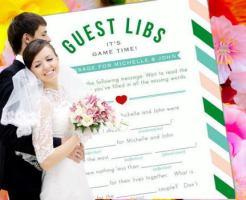 結婚式 ゲストカード