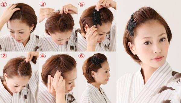 髪型 ショート 七五三 1