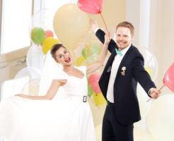 結婚式 祝電 バルーン 即日