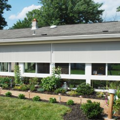 EXTERIOR SOLAR SHADES BY BETTERLIVING SUNROOMS & AWNINGS OF PITTSBURGH