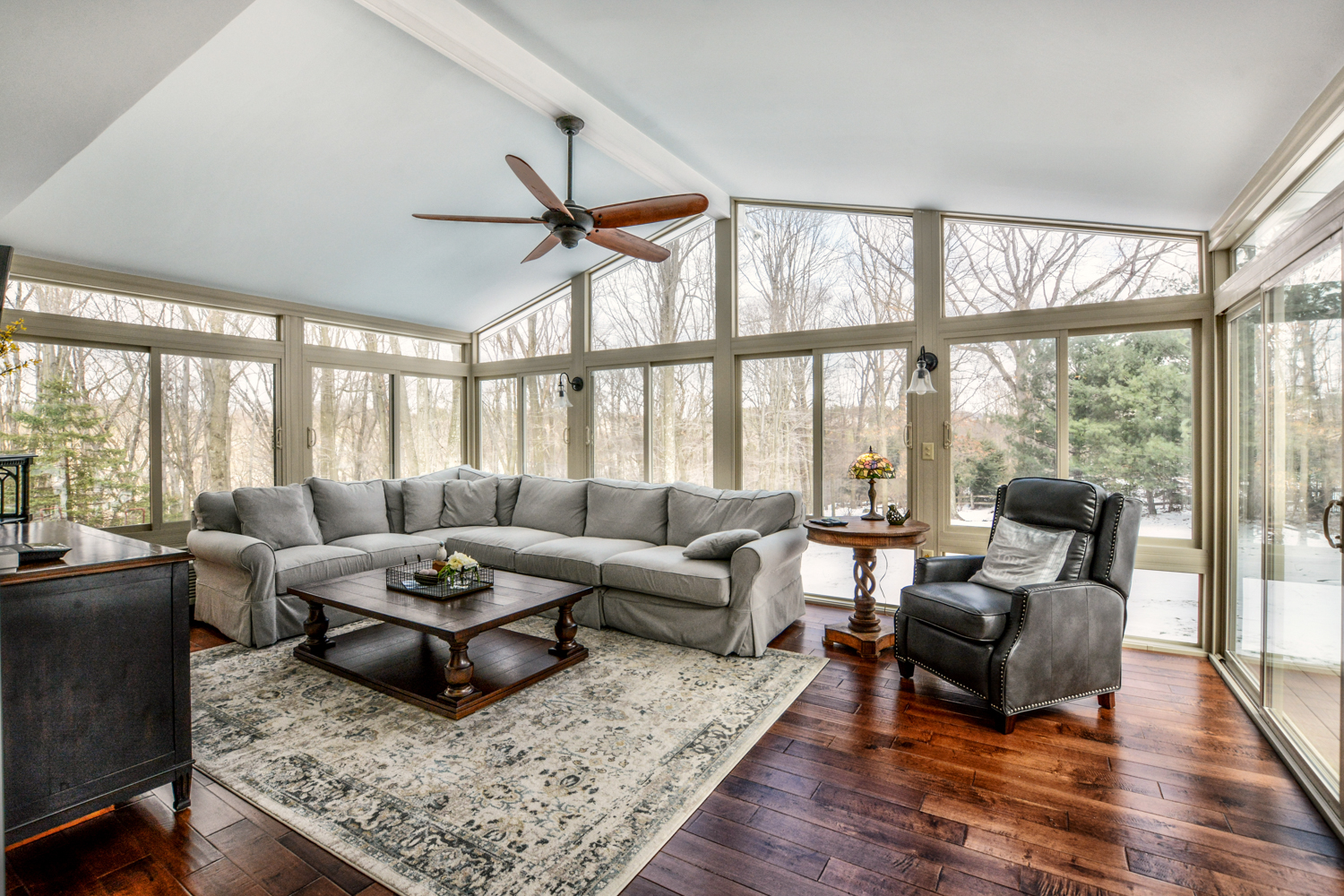 Inside All Season Sunroom