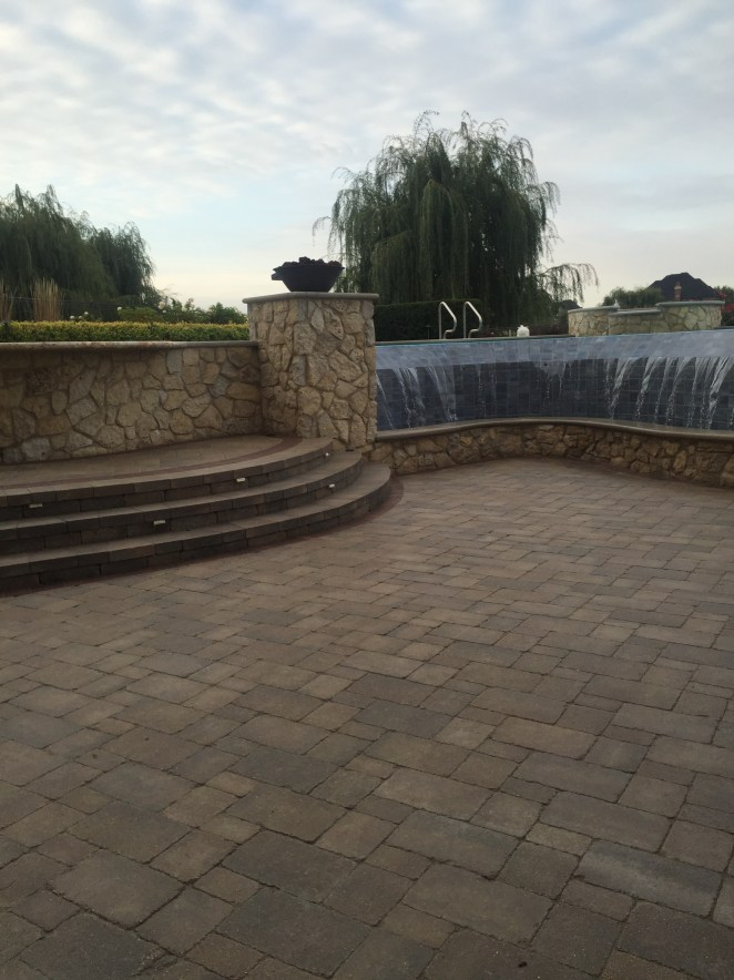 Stone Area with Water Feature