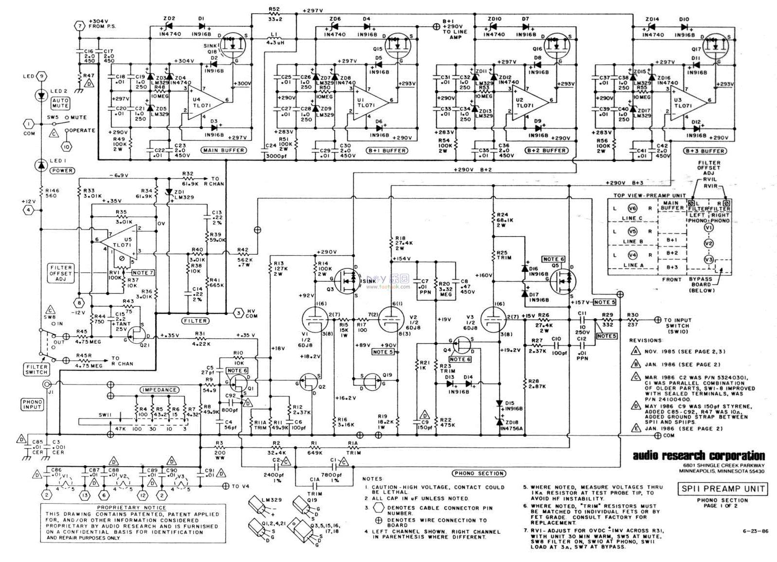 Audio Research Arc Sp11 Diy