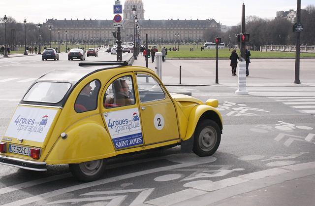 paris car