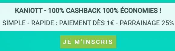 Kaniott - CashBack Inscription