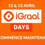 iGraal Days 2021 – Les meilleurs CashBacks boostés : BangGood, Lenovo, Acer, Adidas