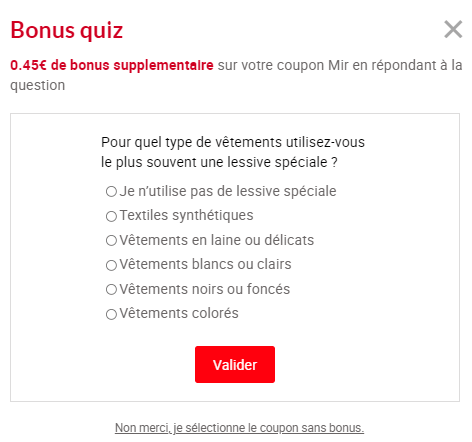 Bonus Quiz - Mir