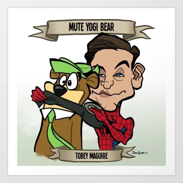 Mute Yogi Bear (Tobey Maguire)