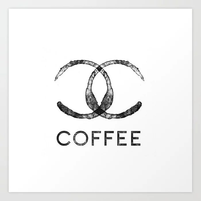 Sunday's Society6 | Chanel Coffee art print