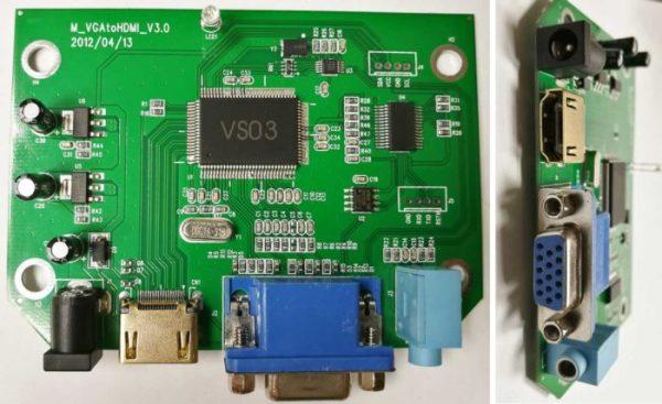 4 качественных переходника VGA-HDMI
