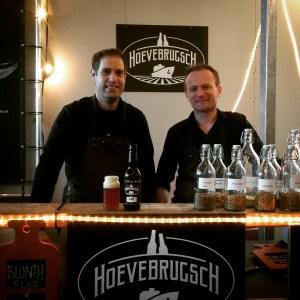 Hoevebrugsch brewers Peter & Martijn