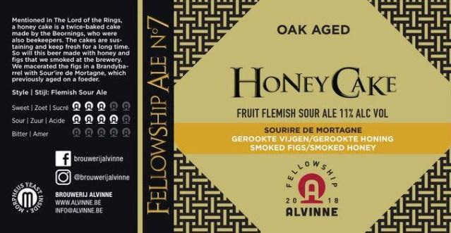 Alvinne Honey Cake