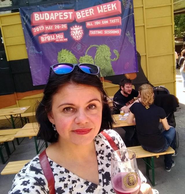 Tina op de festival toer Budapest
