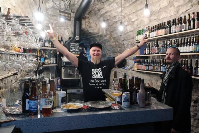 100 Õlle Koht Tallinn beer bar