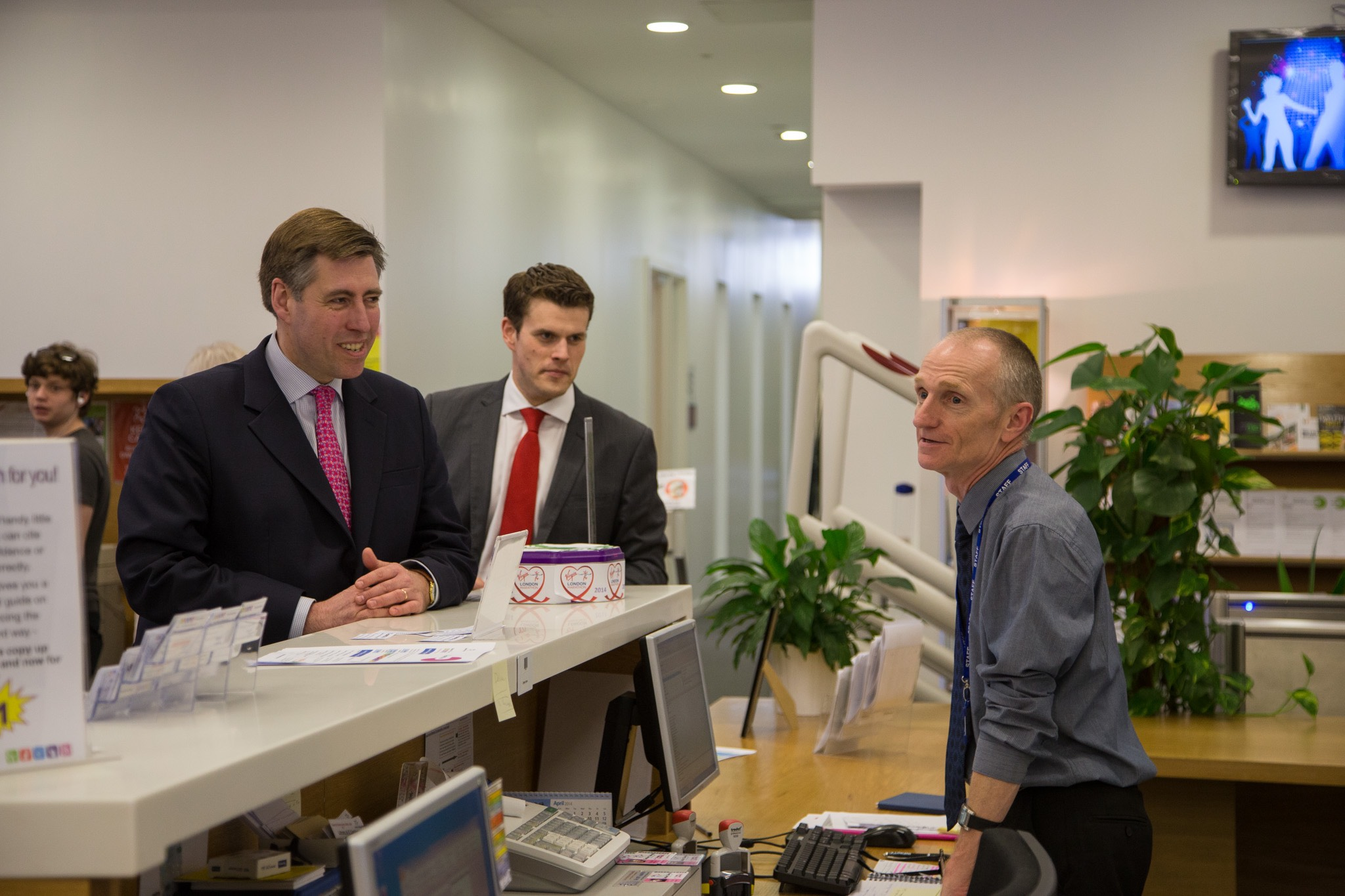 Event Photography Altrincham MP Graham Brady visits Trafford College