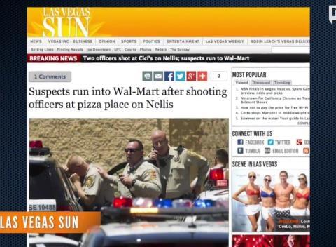 News video: At Least Five People Dead In Las Vegas Shooting