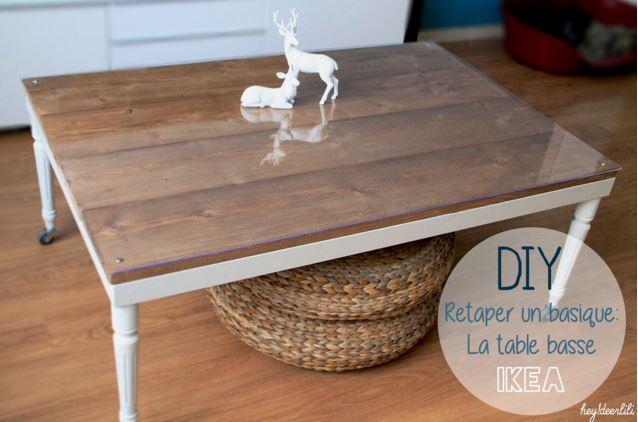 Idées Diy 7 Façons De Customiser Une Table Ikea Lack