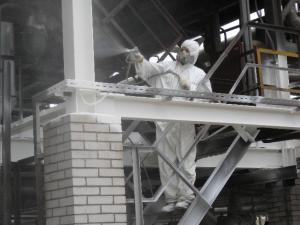 огнезащитная обработка металла