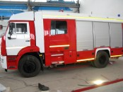 Пожарная автоцистерна АЦ