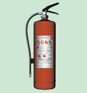 Перезарядка огнетушителя водного