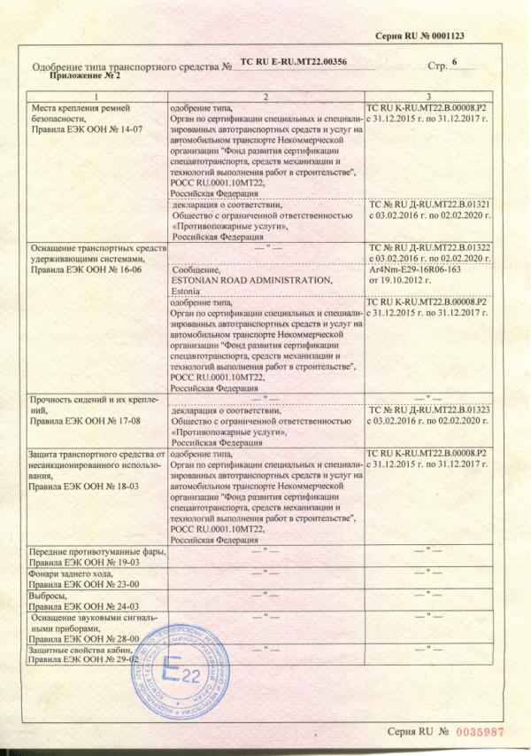 Пожарная автоцистерна АЦ -3.2-40. Документация