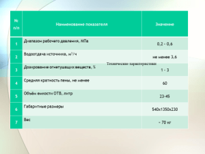 ШПМ характеристики