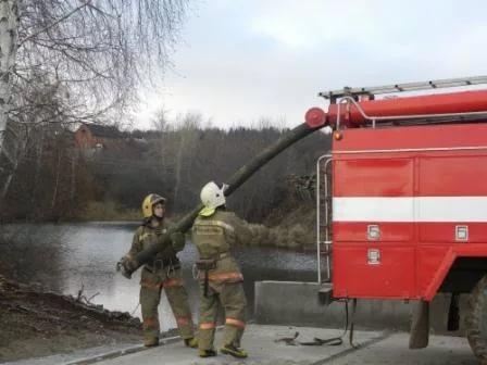 пирс пожарного водоема