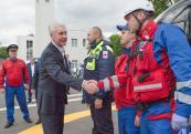 учебный полигон пожарной охраны