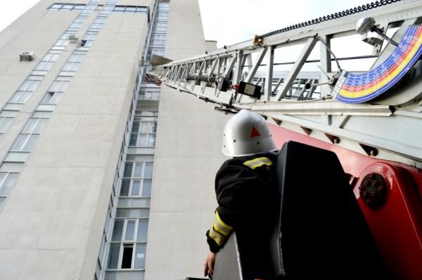 тушение пожара в высотных зданиях