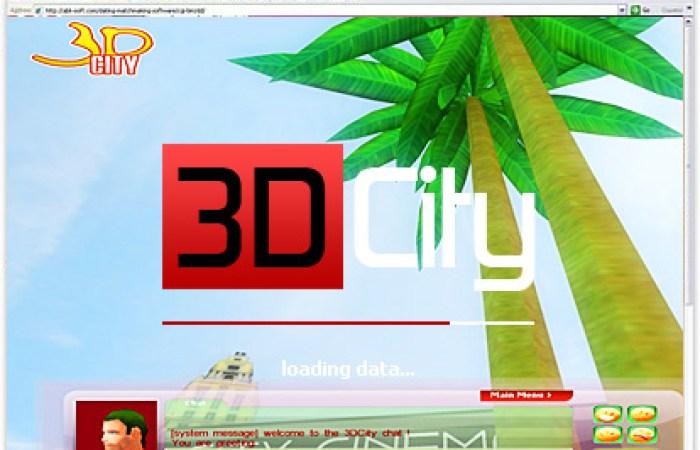 Script clone - Second Life 3D city