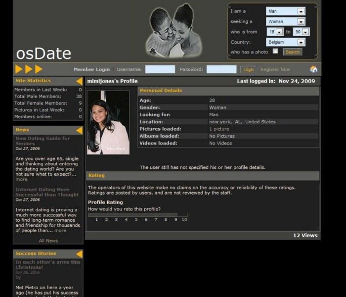 Script Gratuit pour la création site Rencontre: osDate