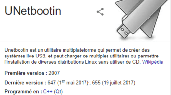 Bootable clef USB Linux