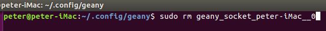 Supprimer lien static socket appartenant à root utilisateur