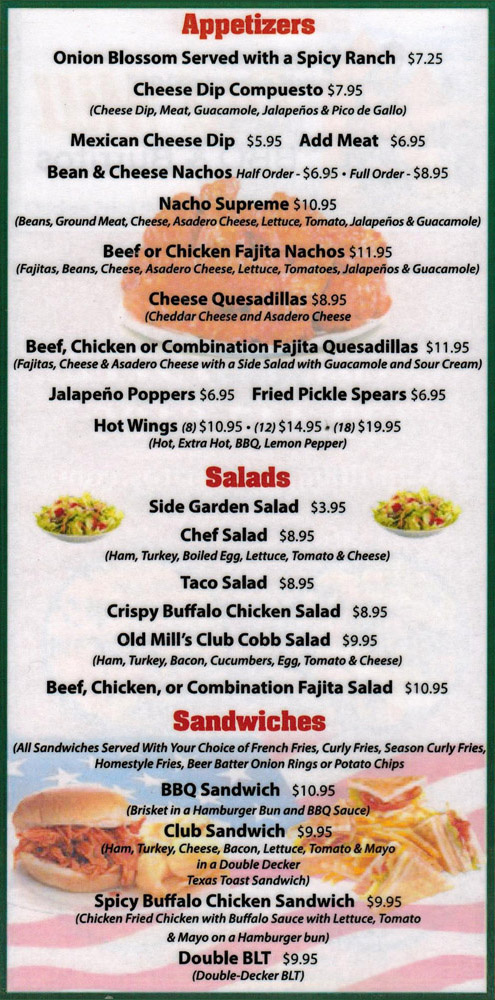 Soul Food Restaurant Menu